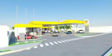 proiectare statie de carburanti