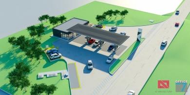 proiect statie carburanti