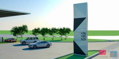 proiect benzinarie totem design